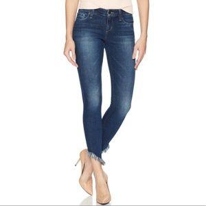 Joe's Jeans The Icon Ankle Skinny Jeans Fray Hem